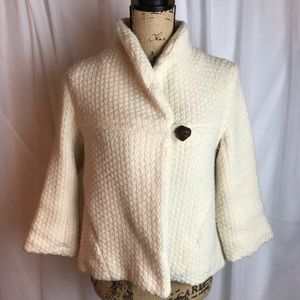 Free People Cropped Lambswool Jacket